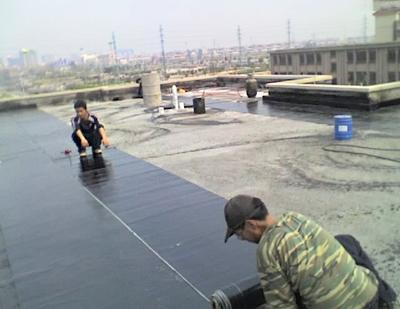 荏园空调SBS屋面防水施工【1999年】